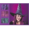 Witch Hat With Hair Taffeta